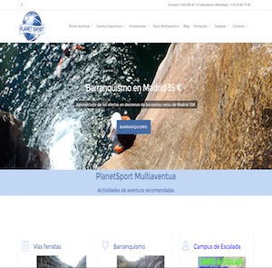 Mantenimiento web wordpress PlanetSport